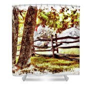 Autumn In Doughton Ap Shower Curtain