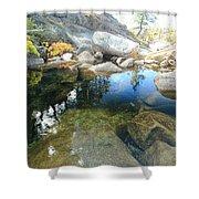 Autumn Liquid Dreamscape Shower Curtain by Sean Sarsfield