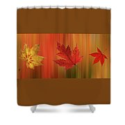 Autumn Spirit Panoramic Shower Curtain