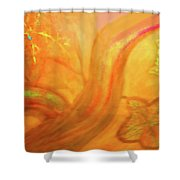 Autumn Transformation Shower Curtain