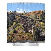 Autumnesium  Shower Curtain