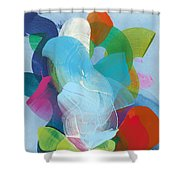 Away A While Shower Curtain