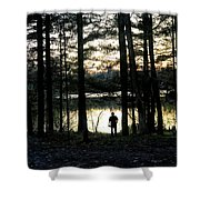 Back To Camp Shower Curtain