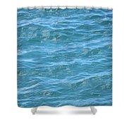Bahamas Blue Shower Curtain