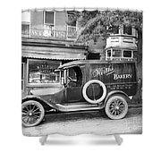 Bakery Car, C1915 Shower Curtain