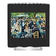Bal Du Moulin De La Galette - Digital Remastered Edition Shower Curtain