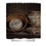 Ball Of Twine Shower Curtain