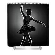 Ballerina Dancing Shower Curtain