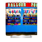 Balloon Pop Shower Curtain