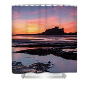 Bamburgh Castle Bam0032 Shower Curtain