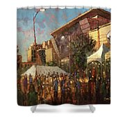 Band Together 2018 Shower Curtain