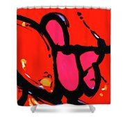 Bang The Gong Loudly Shower Curtain