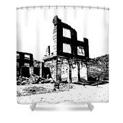 Bank Rhyolite Ghost Ghost Nevada Shower Curtain