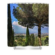 Barberini View Shower Curtain