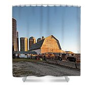Barn And Silos Shower Curtain