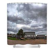 Barnstable Yacht Club October Shower Curtain