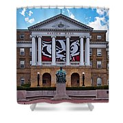 Bascom Hall - Madison - Wisconsin Shower Curtain