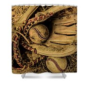 Baseball Mug Shower Curtain