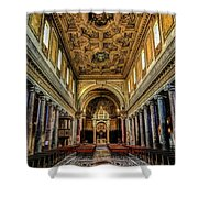 Basilica Di San Crisogono Shower Curtain