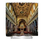 Basilica Di San Crisogono Shower Curtain