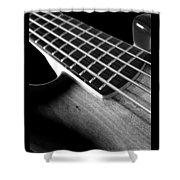 Bass Guitar Musician Player Metal Rock Body Shower Curtain