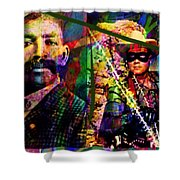 Bass Reeves Shower Curtain