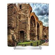 Baths Of Caracalla Shower Curtain