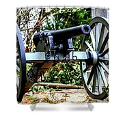 Battery D, Fifth United States Artillery Shower Curtain