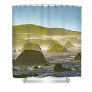 Bay In California Shower Curtain