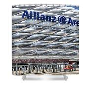 Allianz Arena Bayern Munich  Shower Curtain