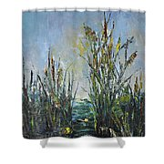 Bays Of The River Shower Curtain
