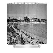 Beach Sand Cove Shower Curtain