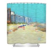 Beach Vacation Shower Curtain
