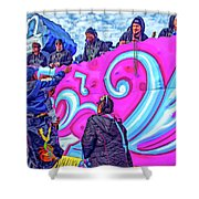 Beads Please Shower Curtain