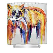 Bear Snack Shower Curtain