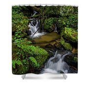 Beautiful Cascades Of Lee Falls Shower Curtain