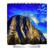 Beautiful El Capitan Shower Curtain