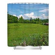 Beautiful North Carolina Day Shower Curtain