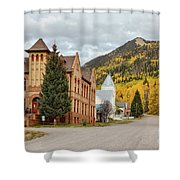 Beautiful Small Town Rico Colorado Shower Curtain