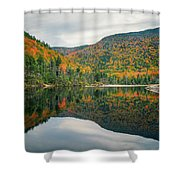 Beaver Pond Shower Curtain by James Billings
