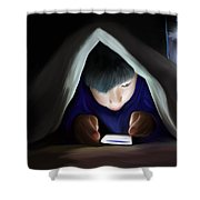 Bedtime Story Shower Curtain by Mark Taylor