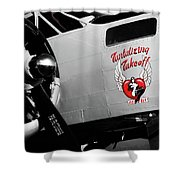Beech At-11 In Selective Color Shower Curtain by Doug Camara