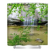 Beede Falls - Sandwich Notch, New Hampshire Shower Curtain by Erin Paul Donovan