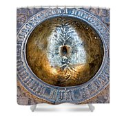 Beer Belly Of Ukraine Shower Curtain by Fabrizio Troiani