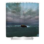 Before Storm.  Shower Curtain