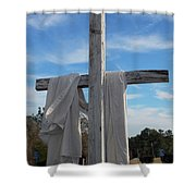 Behold, He Is Coming With The Clouds, Shower Curtain