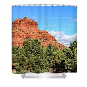 Bell Rock, Sedona Shower Curtain by Dawn Richards