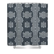 Bella Cake Shea Shower Curtain