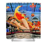 Bellagio Conservatory Falling Asleep Display Wide 2018 2.5 To 1 Aspect Ratio Shower Curtain