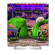 Bellagio Conservatory Spring Display Ultra Wide 2 To 1 Aspect Ratio Shower Curtain